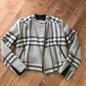 Gap Plaid Wool Jacket